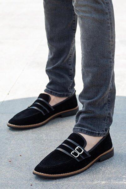 MUGGO Erkek Siyah Ayakkabı