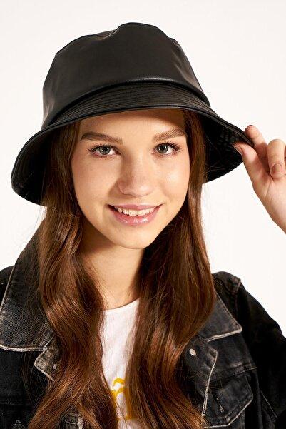 Y-London Kadın Siyah Tas Şapka 13533