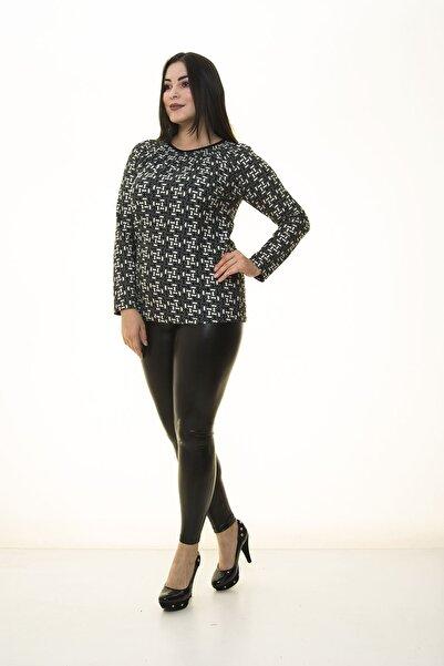 Modayız Kadın Siyah Bluz