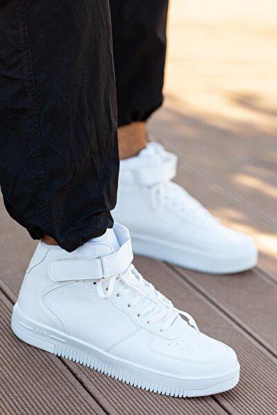 MUGGO Unısex Beyaz Sneaker Ayakkabı Svt12