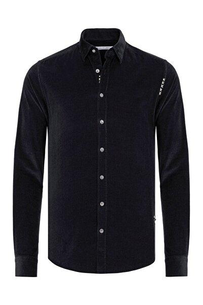 Paşahan Erkek Siyah Fit Gömlek
