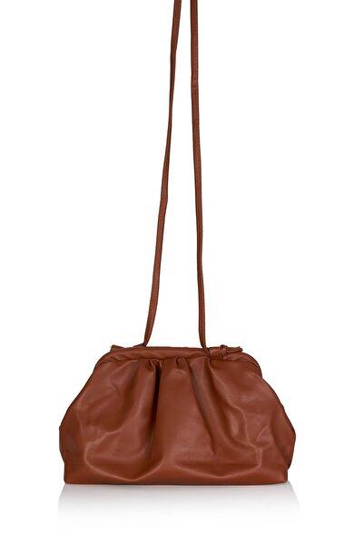 MUGGO Kadın Taba Omuz Çanta W4118