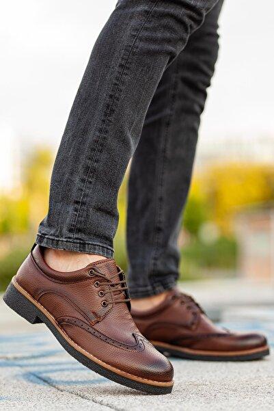 MUGGO Erkek Kahverengi Casual Ayakkabı M260