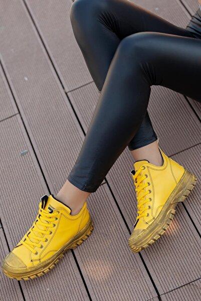 MUGGO Kadın Sarı Bot Sbsw313