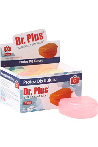 Dr Plus Diş Protez Saklama Kutusu 6 Adet 0563