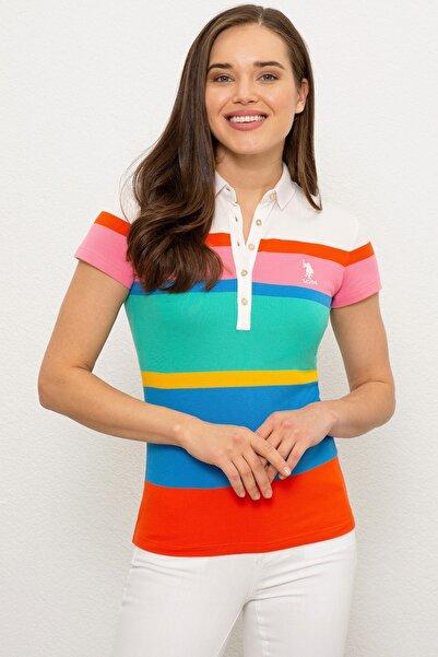 U.S. Polo Assn. Kadın T-Shirt G082SZ011.000.970998