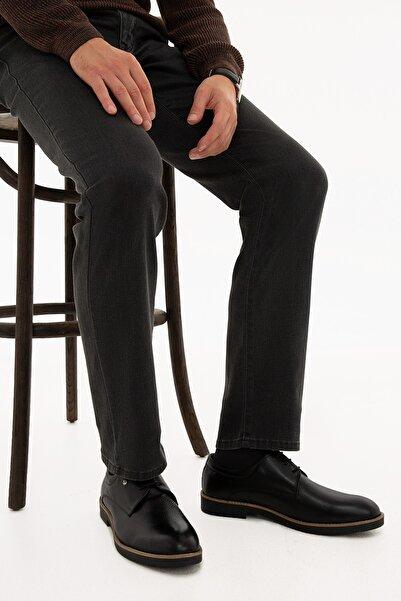 Pierre Cardin Erkek Siyah Oxford Ayakkabı S021SZ033.CS1.707855-SK20