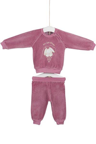 Aziz Bebe Kız Bebek Alt Üst 2'li Takım 0-24 Ay AZZ002952
