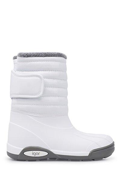 IGOR Unısex Beyaz Yağmur Çizmesi