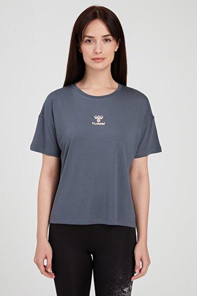 HUMMEL M910961-8241-8241  Hmlbrıtanı T-Shırt S-S Tee Kadın T-Shirt Gri