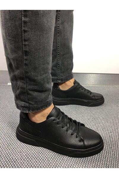 CONTEYNER Erkek Siyah Spor Ayakkabı