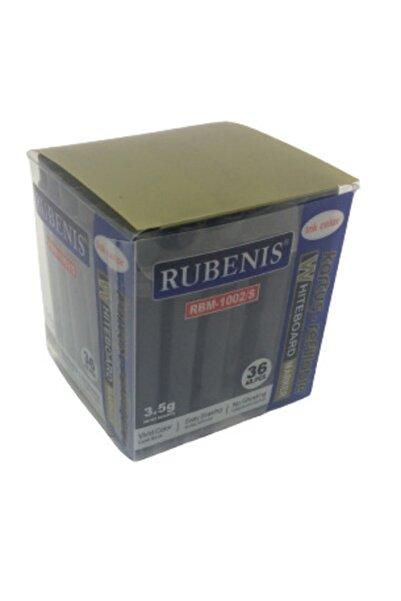 Rubenis 36 Adet Rbm-1002/s Beyaz Tahta Kalemi Siyah Kartuş