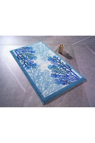 Confetti Coral06 Mavi 80x140cm Banyo Halısı