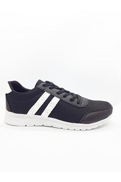 Kraft Erkek Siyah Spor Ayakkabı