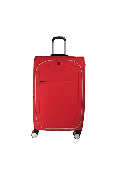 IT LUGGAGE It2228-l Kırmızı Unısex Büyük Boy Valiz
