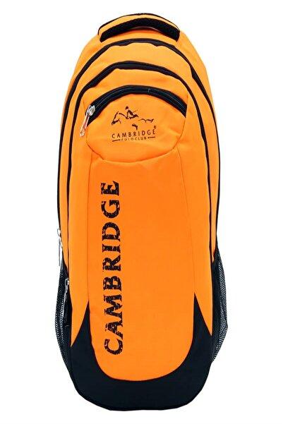 Cambridge Polo Club Cambrıdge Polo Sırt Canta Plcan1634-turuncu
