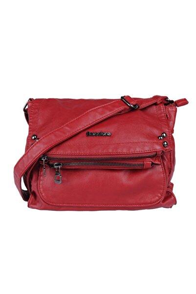 Barcelona Brc1728-0019 Kırmızı Kadın Çapraz Çanta