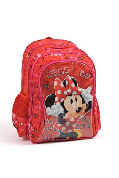 Minnie Mouse Okul Sırt Çantası Kabartmalı 73147