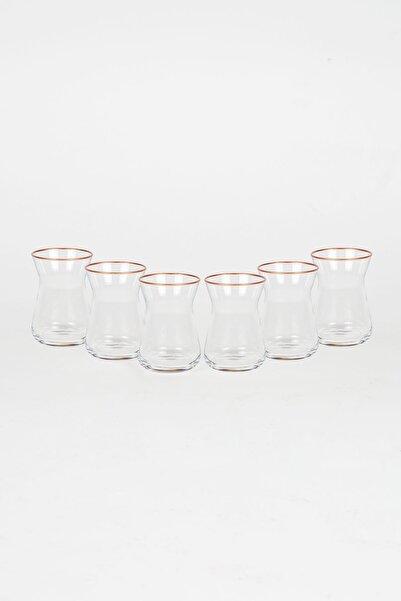 Rakle Diana GoldÇay Bardağı 6'lı  132 Cc