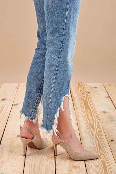Louis Cardy Kadın Bej Monger Topuklu Ayakkabı