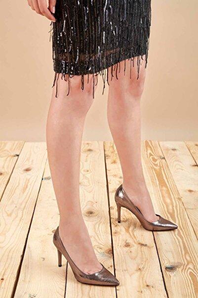 Louis Cardy Kadın Platin Gala Topuklu Ayakkabı