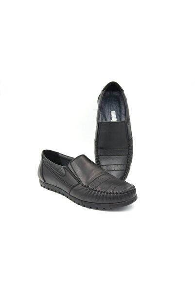 Modesa Erkek Günlük Ayakkabı Hakiki Deri Bağcıksız