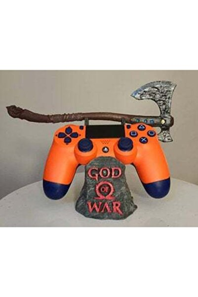 3 boyutlu dükkan God Of War Axe Konsol Standı Ps5 Ps4 Ps3 Xbox