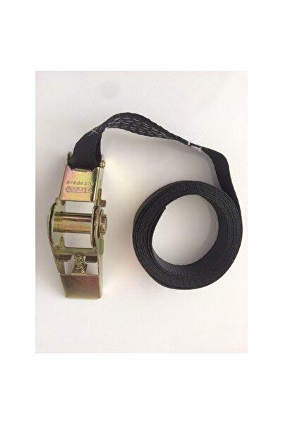 Strong Spanzet Yük Sabitleme Halatı Siyah 600 kg 25mm 5m