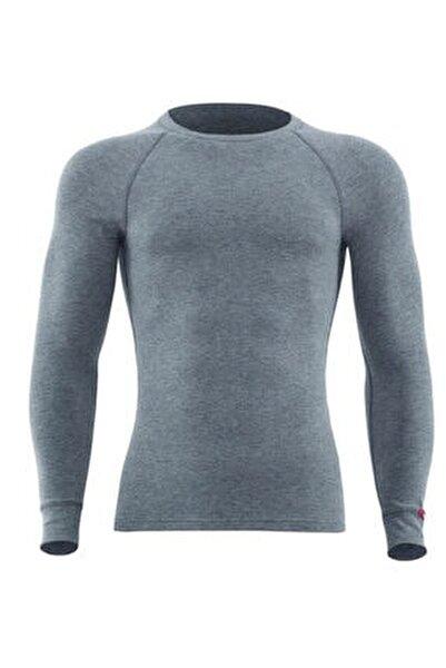 Erkek Termal Tişört 2. Seviye 9259 - Gri Melanj