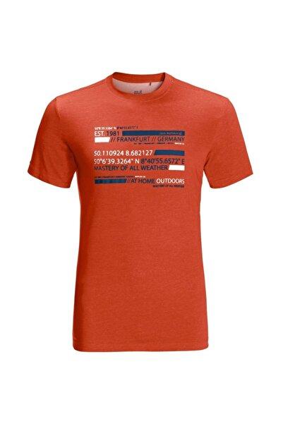 Jack Wolfskin Erkek T-shirt