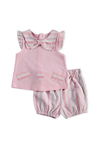 For My Baby Fiyonk Yaka Detaylı Bluz-Şort