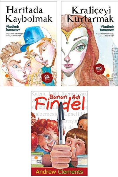 Betonsu Tasarım Haritada Kaybolmak + Kraliçeyi Kurtarmak + Bunun Adı Findel / 3 Kitap Set