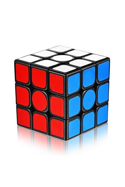 Cici Oyuncak Rubik Zeka Küpü 3x3x3 Cm 54 Kare Sabır Küpü Renkli Kaliteli Boyası Çıkmaz