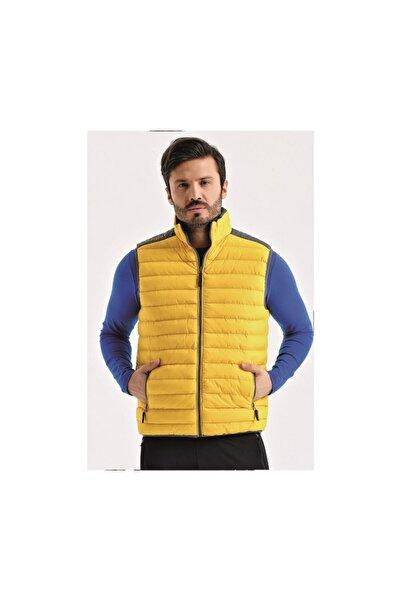 UHLSPORT Erkek Sarı Spor Yelek 1119155