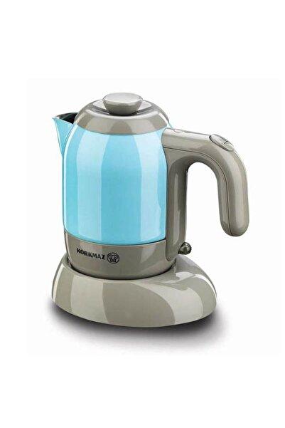KORKMAZ A475-01 Mia Elektrikli Cezve Kahve Makinesi Mavi