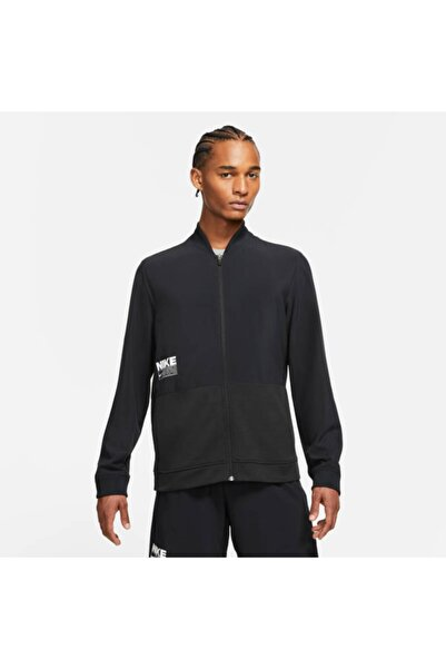 Nike Dri-fıt Erkek Training Ceket- Cz7123-010- Siyah