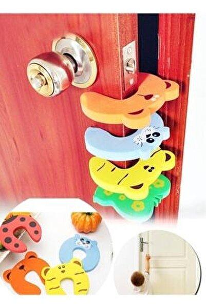 Bebek Çocuk Koruyucu Kapı Stoperi 4 Lü Set