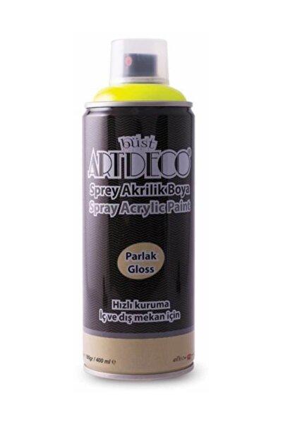 Artdeco Akrilik Sprey Boya 400 ml Neon Sarı