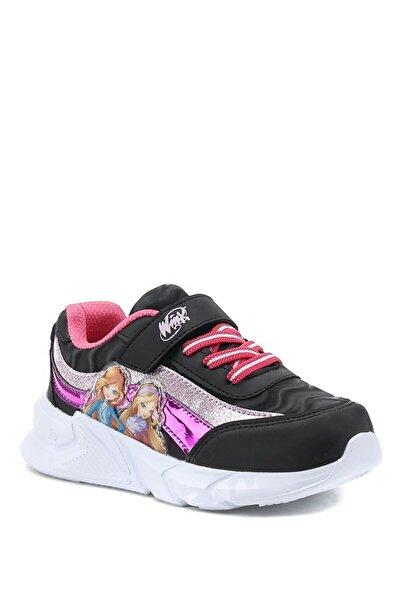 winx Keyse.p1pr Siyah Kız Çocuk Spor Ayakkabı