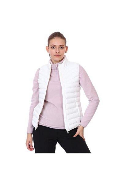 Sportive Puffer Kadın Beyaz Outdoor Yelek 21kktl20d01-byz