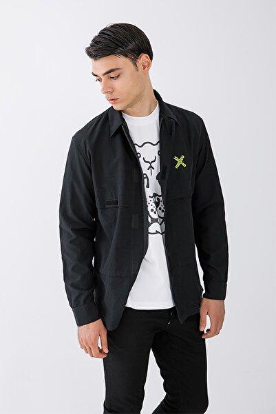 Kenzo Sport Cırt Cırt Detaylı Gömlek Ceket
