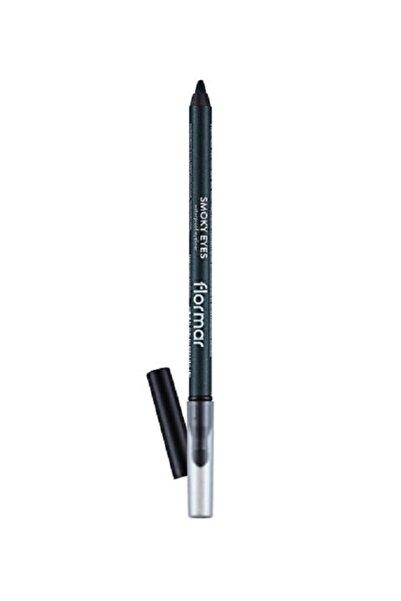 Flormar Smoky Eyes Waterproof Eyelıner Suya Dayanıklı, Sünger Aplikatörlü Göz Kalemi 003 deep Khakı