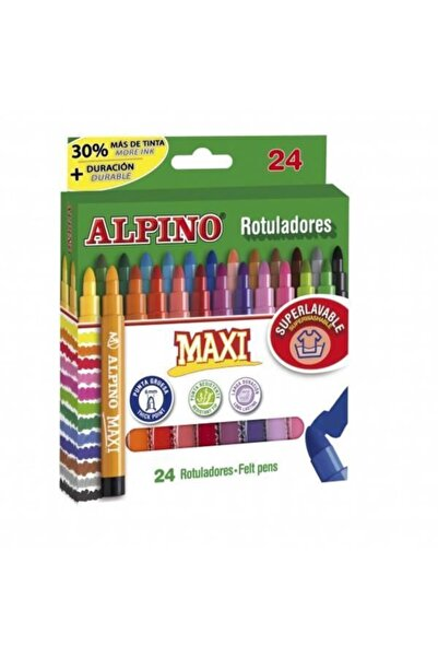 Alpıno Alpino Maxı Keçeli Kalem 24 Renk Ar07