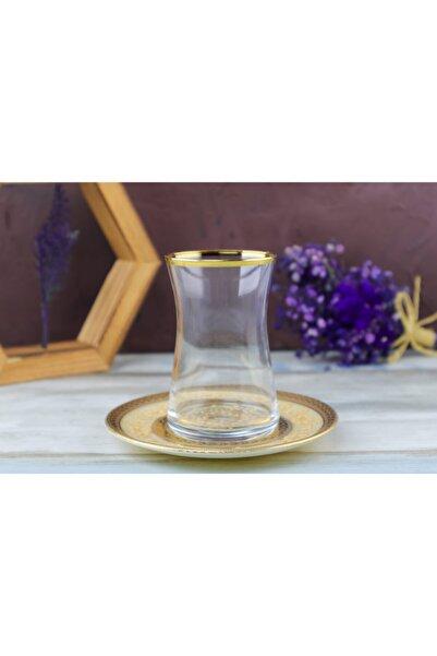 BYBLOS GLASSWARE 12 Parça 6 Kişilik Çay Bardağı
