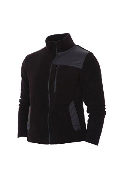 Sportive Renk Bloklu Erkek Siyah Günlük Stil Ceket 21ketl14c01-syh