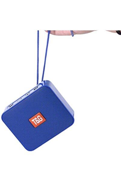 POLYGOLD Hobipix Kablosuz Hoparlör Bluetooth Speaker Ses Bombası Tg-166 Mavi