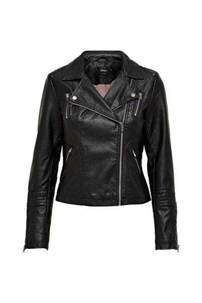 Only Kadın 15153079 Onlegmma Faux Leather Bıker Otw Noos