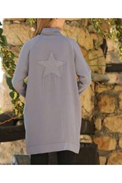 Armine Kadın Gri Ceket