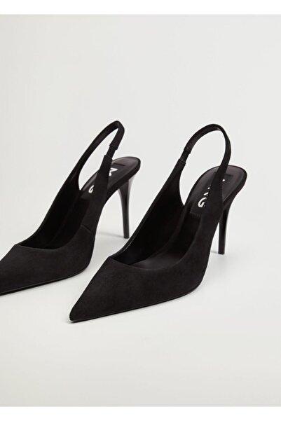 MANGO Woman Deri Ayakkabı