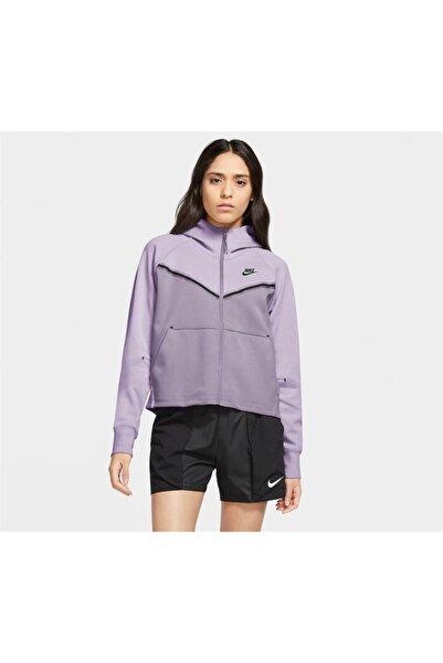 Nike Sportswear Tech Fleece Windrunner Kapüşonlu Kadın Üst Cw4298-578